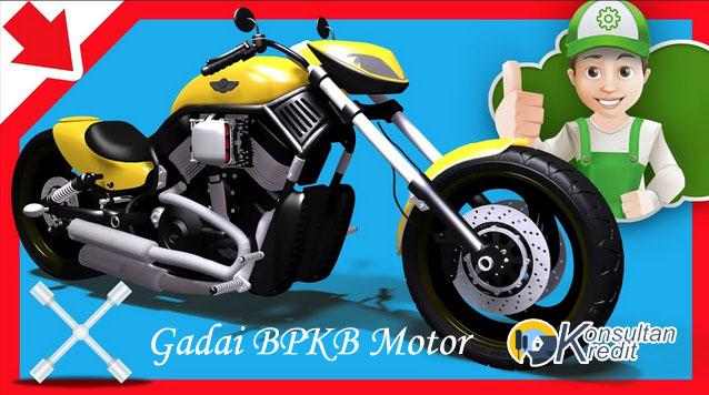 Gadai BPKB Motor Cepat