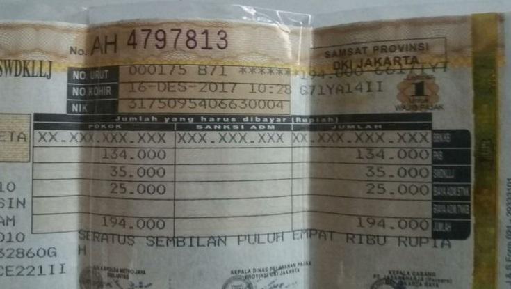 Pinjaman Jaminan STNK Di Pegadaian